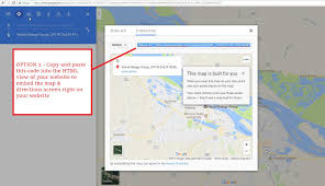 Google Maps Embed How To Create