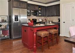 perfect red kitchen island for your interior design home builders
