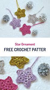 free crochet patterns for home decor star ornament free crochet pattern crochet stars homedecor diy