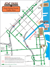 sfmta providing transit options to at t park for giants