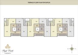 Row House Floor Plans About Project Royal Enrich At Magarpatta Royal Properties