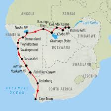 Lake Victoria Africa Map by South Africa Namibia And Botswana Safaris On The Go Tours
