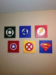 Toddler Superhero Bedroom Alexander U0027s Superhero Room I Painted For The