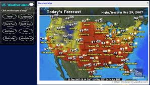 weather usa map us weather maps my