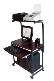 Compact Computer Desk Desk New Compact Computer Desk On Wheels Computer Desk On Wheels