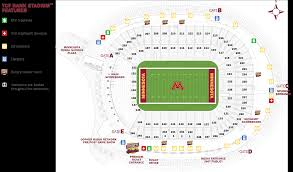gopher football event information university minnesota golden
