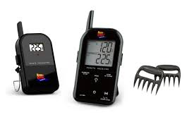 Backyard Grill Thermometer by Top 5 Maverick Wireless Barbecue Thermometer Black Et732