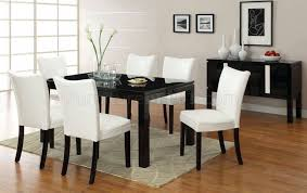 The Brick Dining Room Furniture Cm3176bk T Lamia I Black Dining Table W Optional White Chairs