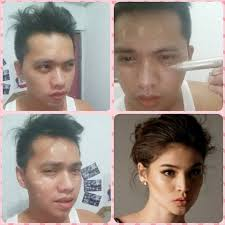 pinoys joins the make up transformation craze with a frantic
