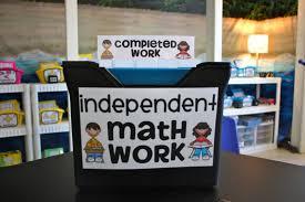 organizing differentiated math work ladybug u0027s teacher files