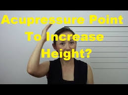 how to add height to hair acupressure point to increase height massage monday 255 youtube