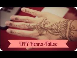 how to diy henna tattoo tipps und tricks youtube