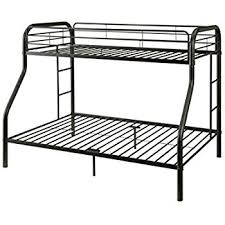 black friday bunk beds sale amazon com dhp twin over full bunk bed with metal frame and