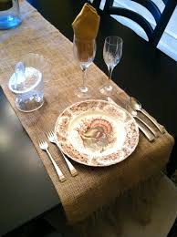 thanksgiving pottery barn eleanor olander this is me diy no sew burlap table runner