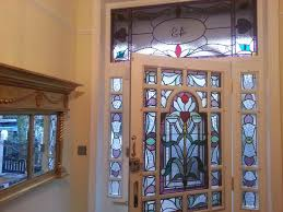 Stained Glass Door Panels by Michael Fennelly Stained Glass 07968 728762