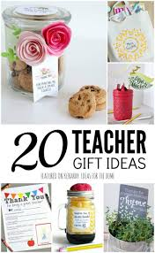 teacher gift ideas 20 easy crafts and free printables free