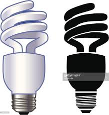 energy efficient light bulb vector art getty images