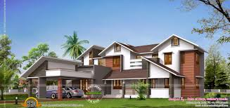traditional mix modern house kerala home design and floor plans