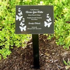 memorial plaques memorial plaques memorial garden stake hawe park