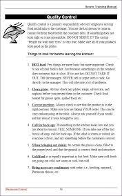 restaurant employee handbook template template design