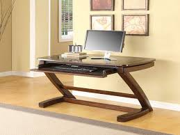 Modern Corner Desks For Home Office by Furniture Cool Whalen Desk With A Simple Profile And Generous