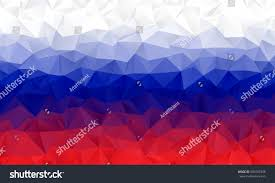 White Blue Orange Flag Red Blue White Low Poly Vector Stock Vector 609707498 Shutterstock