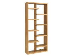 Small Open Bookcase Bookcase Devon Oak Slim Bookcase Drawer Open Solid Oak Open Back