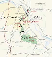 Map Of Eastern Virginia by Maps Fredericksburg U0026 Spotsylvania National Military Park U S