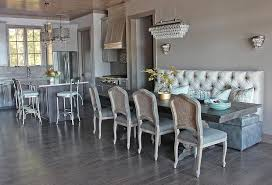 Banquette Dining Room Furniture Trestle Dining Table Design Ideas