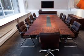 Black Boardroom Table Boardroom Table Black Leather Chairs Modern Conference Table