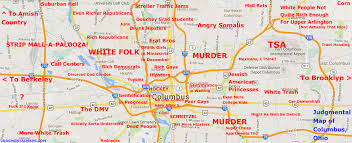 map of columbus judgmental maps columbus oh by eric copr 2014 eric all rights