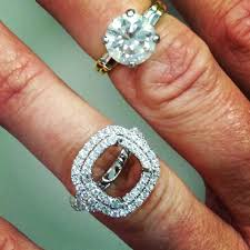 reset wedding ring how to re size your engagement ring