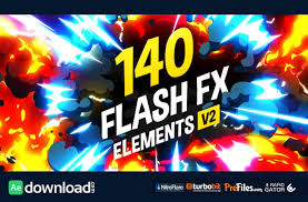 free download template flash 140 flash fx elements free download after effects templates ae