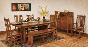 amish home place handcrafted dining furniture mission table