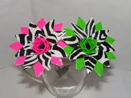 zebra print duct tape flower pen for the love of duct tape