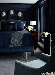Dark Blue And Black Bedroom Totally Into This Dark Blue Bedroom - Blue and black bedroom ideas