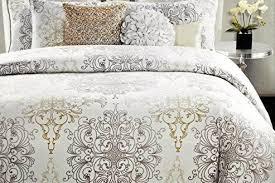 Ivory Comforter Set King Bedroom Tahari Bedding Medallion King Duvet Cover Set Blue Ivory