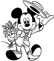 printable mickey mouse pictures printable coloring pictures