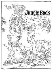 elegant jungle book coloring pages 41 free colouring