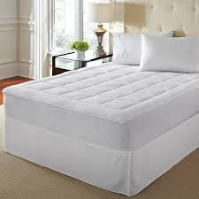 full size mattress pad soft plush fitted pillow top bed loftworks microplush extra soft plush top mattress pad with deep