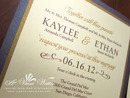 Gold Invitation Card Purple And Gold Wedding Invitation U2013 A Vibrant Wedding