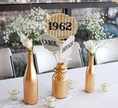 50th anniversary centerpieces 50th wedding anniversary party decoration ideas wedding