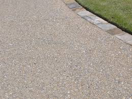 Covering Old Concrete Patio by Exposed Aggregate Concrete Patio With Pavers Want This As A Small