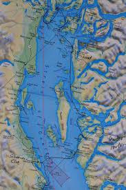 Desolation Sound Map Blue Bossa U0027s Blogs April 2011