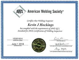 aws certified welding inspector laboratory testing inc
