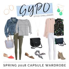 over 40 work clothing capsule style challenges spring 2018 capsule wardrobe get your pretty on
