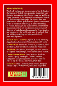 the turkish language explained for english speakers a treatise on