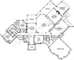 kettle creek ranch rustic home plan luxury home blueprints
