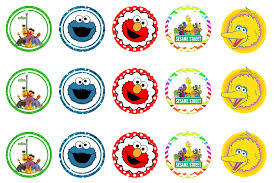 sesame street inspired bottlecap images projects