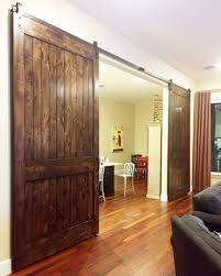 Double Barn Doors by Barn Doors Dallas Tx Sliding Barn Door Installation Dallas